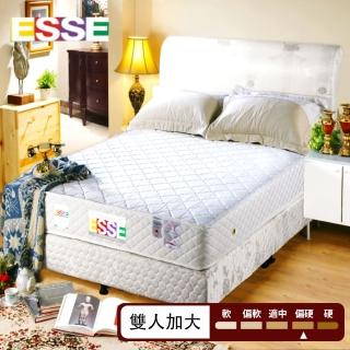 【ESSE御璽名床】健康記憶2.3硬式彈簧床墊(6*6.2尺-雙人加大)