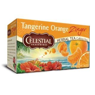 【Celestial 詩尚草本】美國原裝進口 柑橘活力茶(20環保包)