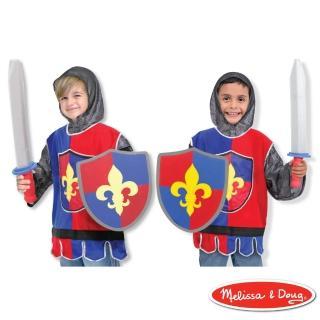 【Melissa & Doug 瑪莉莎】騎士服裝扮遊戲組