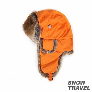 【SNOW TRAVEL】極地保暖遮耳帽(橘色)