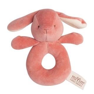 【美國miYim】有機棉手搖鈴(邦妮兔兔)