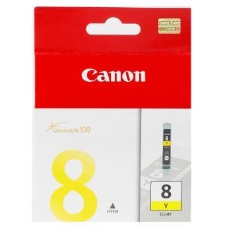 【CANON】CLI-8Y 原廠黃色墨水匣