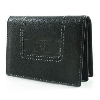 【Lynx】品牌烙印羊皮名片夾/卡片夾
