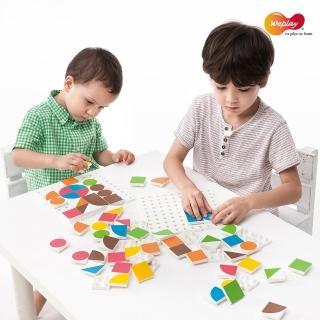 【Weplay】神奇拼板(STEAM玩具)