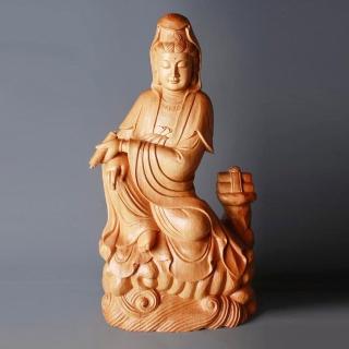 【荒木雕塑藝品】慈悲觀音(2.2尺)