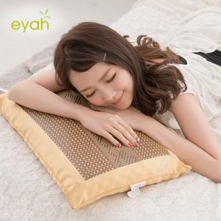 【eyah宜雅】雅藤清香茶葉枕-大型(2入)