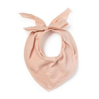 【Elodie Details】有機棉口水巾圍兜(Powder Pink 粉嫩公主)