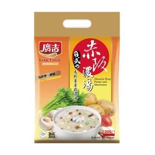 【廣吉】赤阪濃湯-馬鈴薯蘑菇(20g x 10小包)