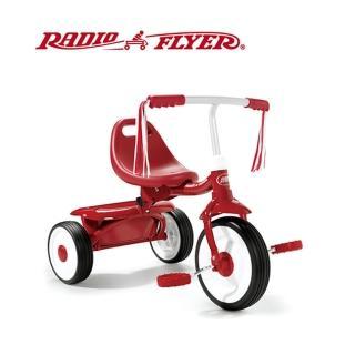 【美國RadioFlyer】紅騎士折疊三輪車(#415A型)