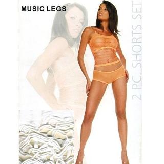 【MUSIC LEGS】性感貓裝(頂級 9653 白 F)