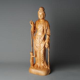 【荒木雕塑藝品】慈母觀音(2尺)