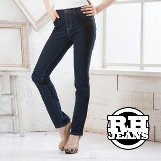 ~RH~真褲頭修身比例剪裁牛仔長褲 星空藍S~M~L~XL最後數量