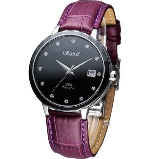 【詩丹麗 Standel】真鑽時尚腕錶(3S2632SD-V)