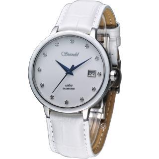 【詩丹麗 Standel】真鑽時尚腕錶(3S2632SS-S)