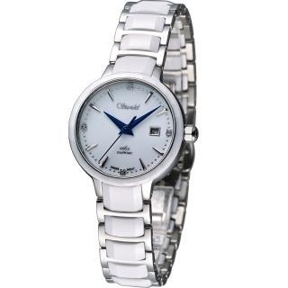 【詩丹麗 Standel】真鑽陶瓷仕女腕錶(3S2622SS)