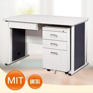 【時尚屋】DIY4尺YS淺灰色辦公桌櫃組(UA8-S684-6)