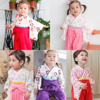 【BABY童衣】和服 日式經典女寶寶連身衣 童裝 造型服 37301(共5色)