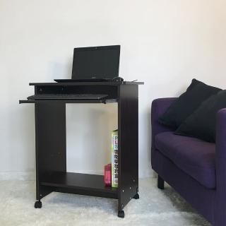 【ONE 生活】小空間電腦桌(胡桃色/ MIT)