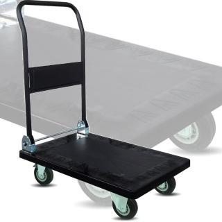 【COLOR】塑鋼折疊手推車-S(200公斤)
