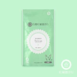 【杜爾德洋行】台灣茉莉香綠茶茶包(15入)