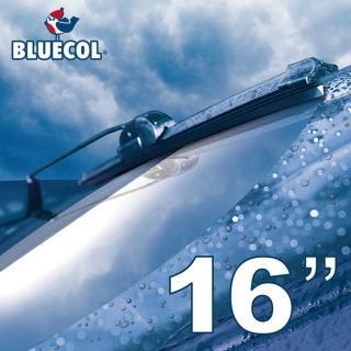 【BLUECOL藍雀】Aero-Flexible高彈性氣動軟骨雨刷16吋(406mm)
