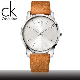 【瑞士 CK手錶 Calvin Klein】經典時尚簡約風格男腕錶(K2G21138)