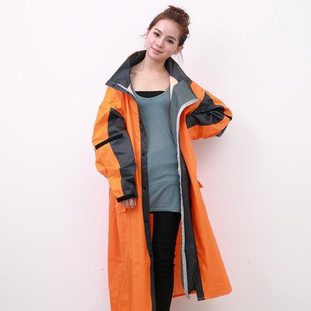 【OutPerform】勁馳率性連身式風雨衣(橘/鐵灰)
