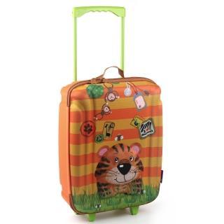 【德國okiedog】兒童3D動物造型拉桿式大行李箱(老虎)