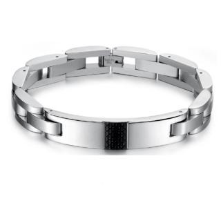 【I.Dear Jewelry】西德鋼-勝者為王炭纖維鈦鋼手環(勝者為王-銀)