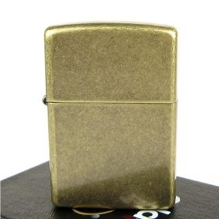 【ZIPPO】美系-Antique Brass-仿古鍍黃銅打火機