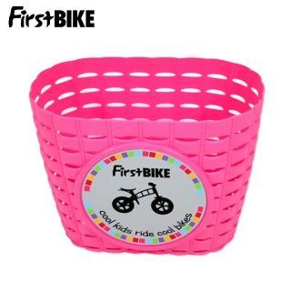 【FirstBIKE】兒童滑步車/學步車原廠車前小籃子-粉