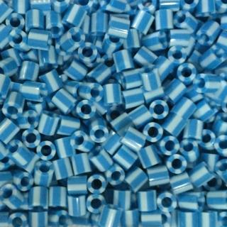 【Perler 拼拼豆豆】1000顆單色補充包-111天藍條紋(特殊色)