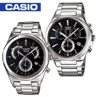 【CASIO 卡西歐BESIDE系列】送禮首選-白領階級/紳士石英男錶(BEM-508D_BEM-509D)