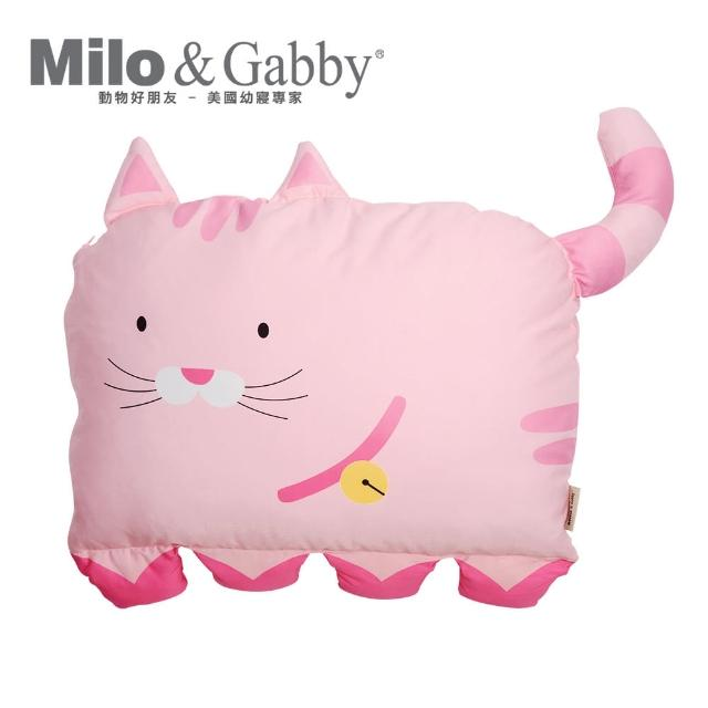【Milo Gabby】動物好朋友-可水洗防蹣兒童枕心+枕套組-2歲以上(多款任選)