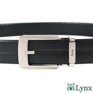 【Lynx】男用自動扣紳士皮帶 LY11-8807-99
