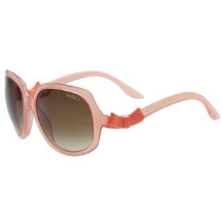 【MAX&CO.】-時尚太陽眼鏡(粉橘色)