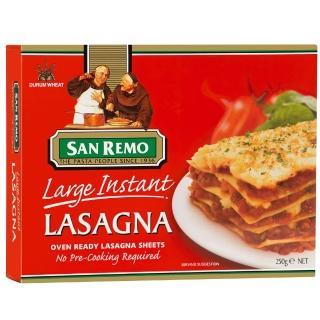 【美味大師】SAN REMO義大利快煮千層麵(大片)