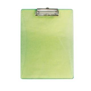 【ABEL力大牌】A4彩色透明板夾-直式(綠色)