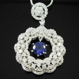 【Celosa珠寶】-細細品味藍寶墜鍊
