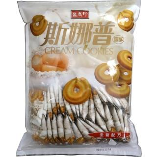 【盛香珍】斯娜普奶酥550g/包(約60小包入)