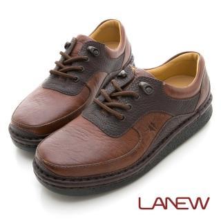 【LA NEW】雙密度PU氣墊休閒鞋(男39080122)