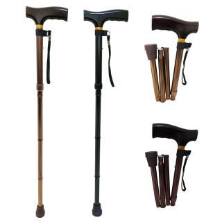 【舞動創意】仲群維醫療用手杖-未滅菌-鋁合金折疊式五段調整手杖(GT20061)