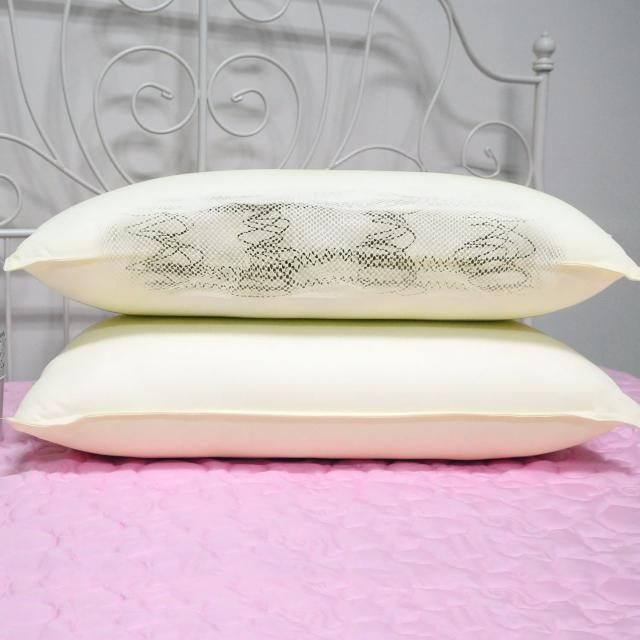 【McQueen】吸濕排汗獨立筒壓縮舒眠枕/