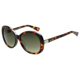 【MaxMara】-優雅復古太陽眼鏡(琥珀色)