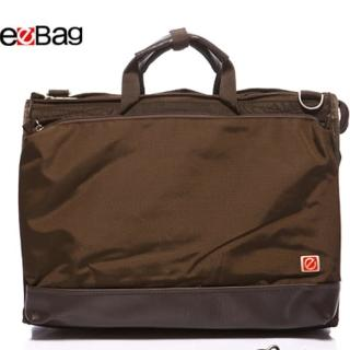 【eeBag】手提/肩背。 超優質多功能電腦背包(咖)
