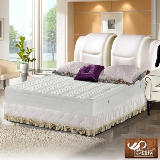 【亞珈珞】3M防潑水蜂巢式三線獨立筒床墊6X6.2尺(雙人加大)