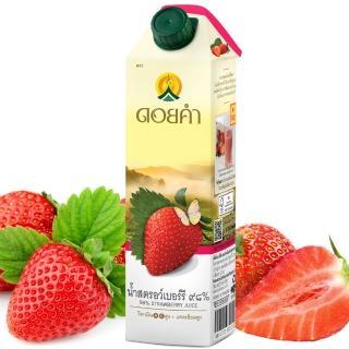 【皇家農場】鮮果汁-草莓汁(1000ml)