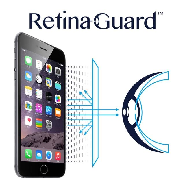【RetinaGuard】視網盾 iPhone6 Plus 防藍光保護膜(透明版)