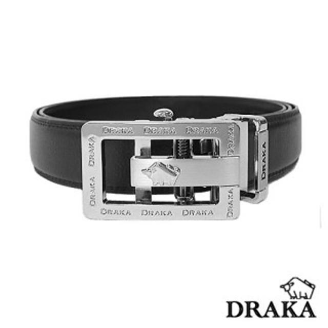 【DRAKA 達卡】時尚男用牛皮自動皮帶(41DK6012)比價