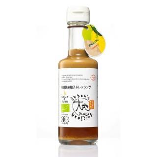 【大地】日本有機胡麻柚子和風醬(175ml)